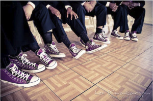 purple-converse-for-groomsmen-wedding pinterest